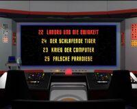 DVD-Menü TOS Staffel 1 Disc 6