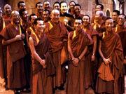 Dalai Lama entourage