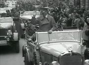 Hitler in a Mercedes-Benz