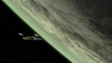 Planeta Qo'noS v roce 2151