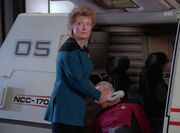 Pulaski untersucht den toten Picard