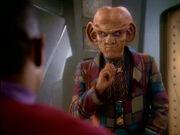 Quark weigert sich mit in den Gamma-Quadranten zu kommen