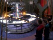 Sisko und Dax zerstören die Glücksspielgeräte