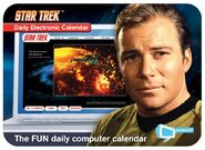 Star Trek Bubbles Electronic Calendar