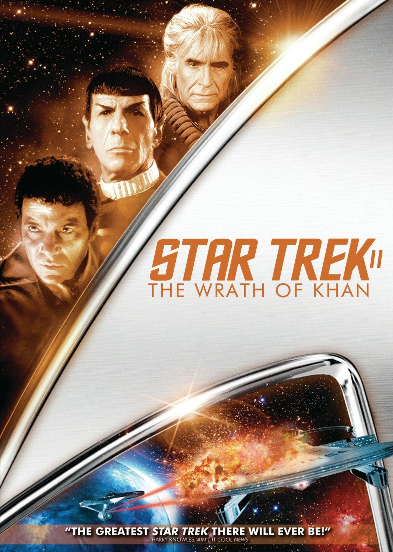 Star Trek II The Wrath of Khan 2009 DVD cover Region 1