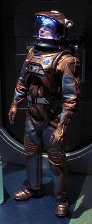 Starfleet EV suit, 2140s-early 2160s