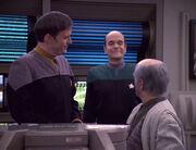 The Doctor arrives at Jupiter Station