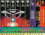 The Ultimate Star Trek Movie Collection VHS WS