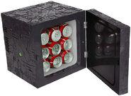 ThinkGeek Star Trek Borg Cube mini fridge