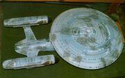 USS Enterprise-C studio model