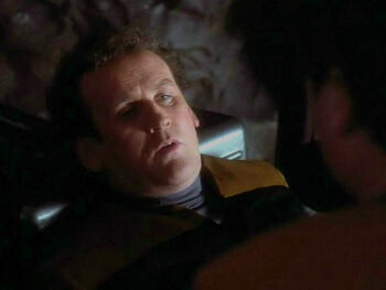 Replicant O'Brien, shortly before death