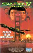 Star Trek IV (Kinofassung - Kauf-VHS Frontcover)