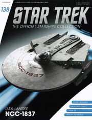 Star Trek Official Starships Collection issue 138
