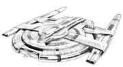USS T'Plana-Hath Concept Art