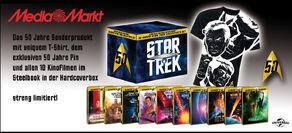 10 Movie Star Trek Collector's Set - Limited Edition Steelbook Collection German Media Markt promo art