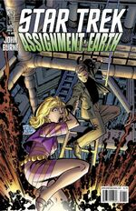 Assignment Earth issue 1 titles
