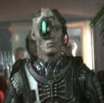 Borg drone in Dixon Hill program