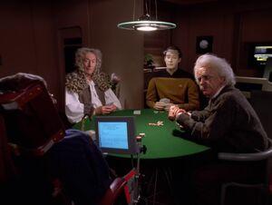 Data's poker game, 2369