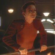 Kira as Lela Dax
