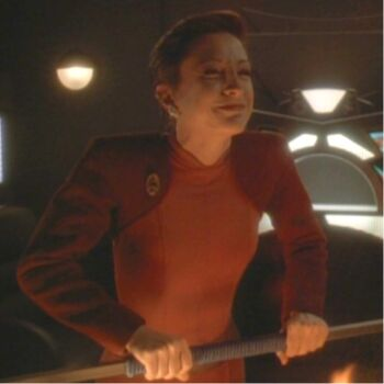 Kira Nerys as Lela Dax during Jadzia's <i>zhian'tara</i>