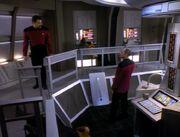 Maschinenraum der USS Pegasus