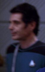 Science division officer, alternate timeline 2366