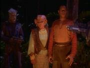 Sisko und Quark gefangen von den Jem'Hadar