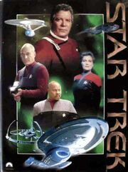 Star Trek Das offizielle Magazin German binder captains variant