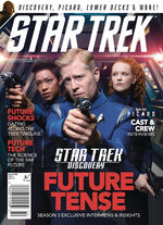 Star Trek Magazine issue 203 cover