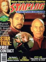 Starlog issue 233 cover