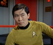 Sulu in command, 2267