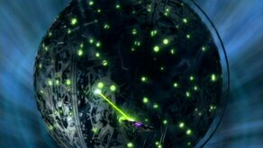 Xindi superweapon fires on the Insectoids