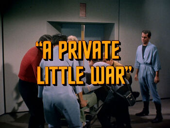 A Private Little War title card