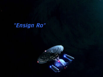 Ensign Ro title card
