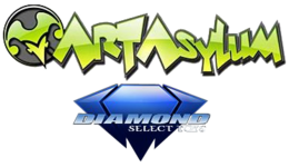 Art Asylum Diamond Select Toys logo