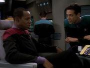 Bashir und Sisko wegen Dax beunruhigt