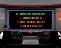 DVD-Menü TOS Staffel 3 Disc 5