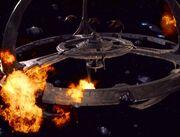 Deep Space 9 wird vom Dominion angegriffen