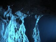 Dream species' homeworld cave