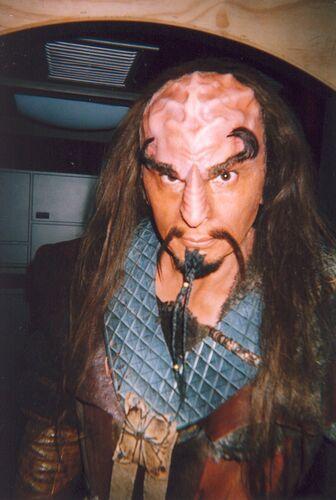 ... as a Klingon in <i>Enterprise</i>