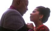 Sisko says goodbye