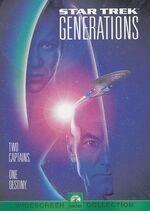 Star Trek Generations original DVD cover