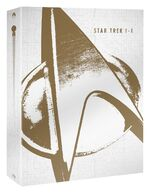 Star Trek I-X Limited Collector's Edition Blu-ray cover