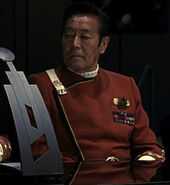 Starfleet Headquarters flag officer 3