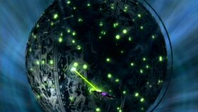 Xindi weapon fires on the Insectoids