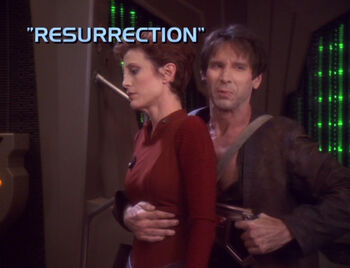 Resurrection title card