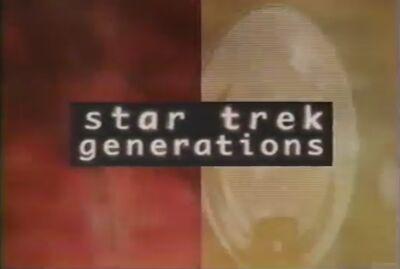 E live premiere - Star Trek Generations