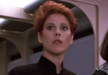 Enterprise-D Female Security Officer