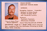 Harry Mudd police record