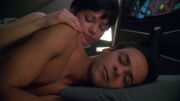 Julian Bashir and Ezri Dax, the morning after